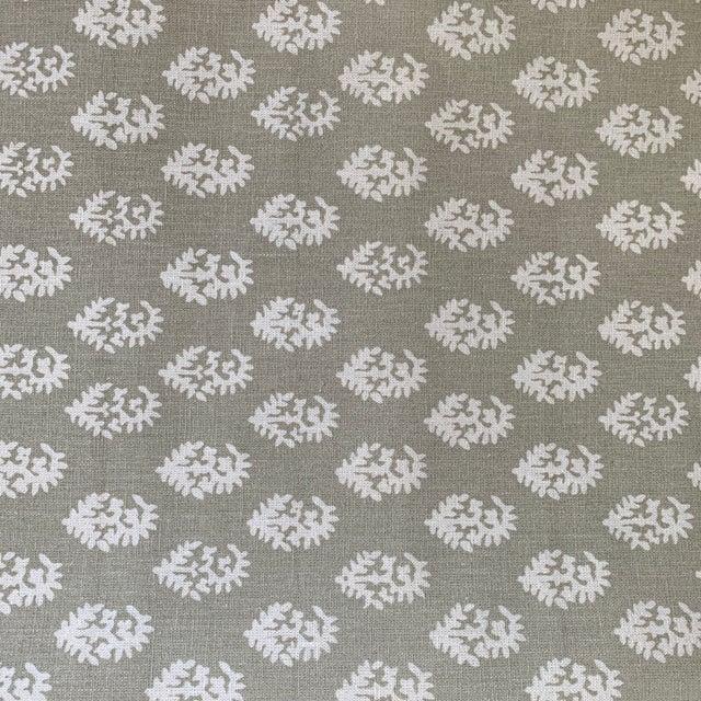 Boho Chic Boho Chic Peter Dunham Tan Rajmata Fabric - 1 1/4 Yards For Sale - Image 3 of 7