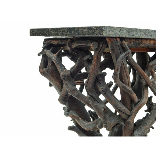 Rare Twig Console For Sale - Image 10 of 13