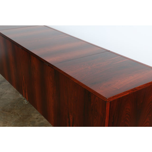 1970s Rosewood Record Cabinet - Image 9 of 11
