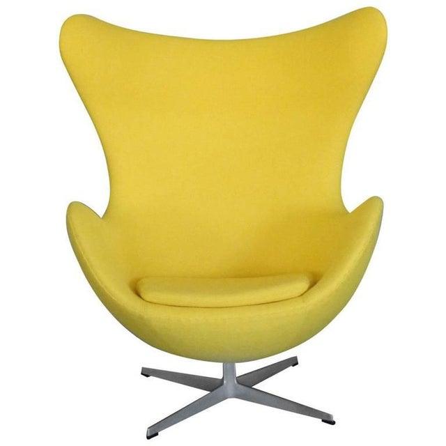 1960s Properly Restored Arne Jacobsen Egg Chair For Sale - Image 5 of 5