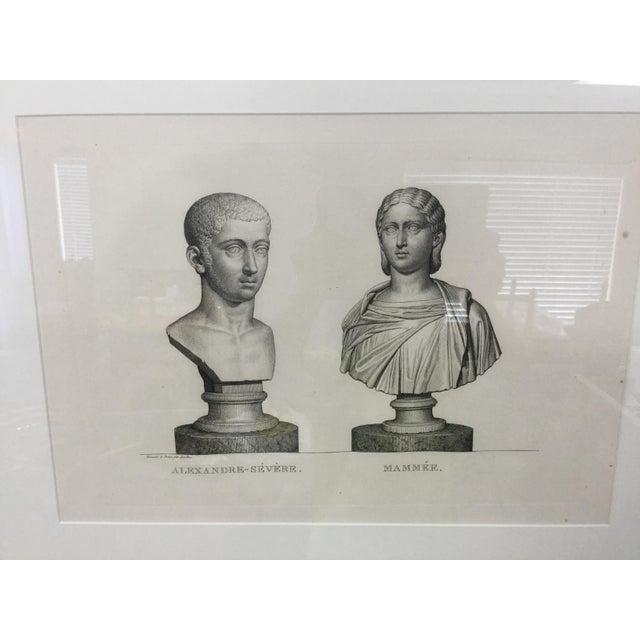 By French painter and printmaker Pierre Bouillon. Plate from Musée des antiques, dessiné et gravé par P. Bouillon, avec...