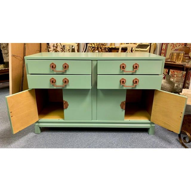 1960s 1960s Landstrom Furniture Co. Chinese Chippendale Sideboard For Sale - Image 5 of 13
