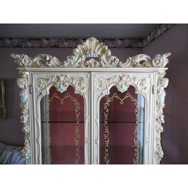 Italian Style Display Cabinet - Image 5 of 11