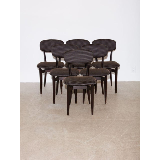 Mid-Century Modern Vintage 1960s Ico Parisi Dining Table and Chairs Set For Sale - Image 3 of 8