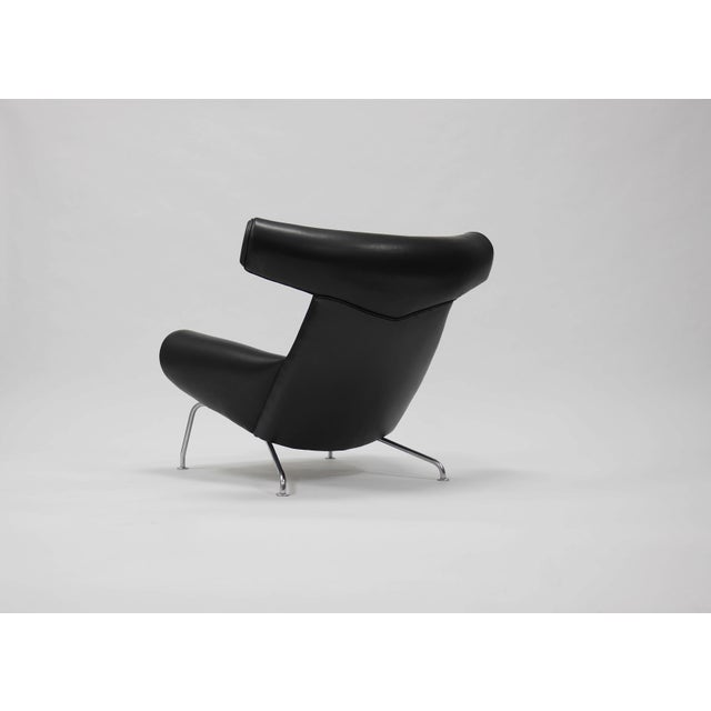 1960s Early Ox Lounge Chair by Hans Wegner for a.p. Stolen For Sale - Image 5 of 11