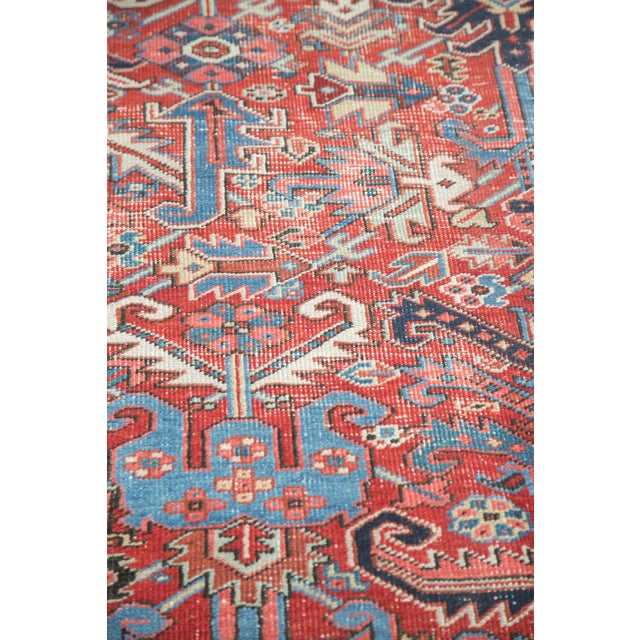 "Distressed Heriz Carpet - 8' X 11'2"" - Image 6 of 10"