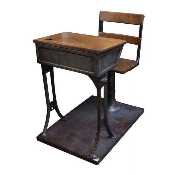 Antique Childrens School Desk - Image 7 of 7