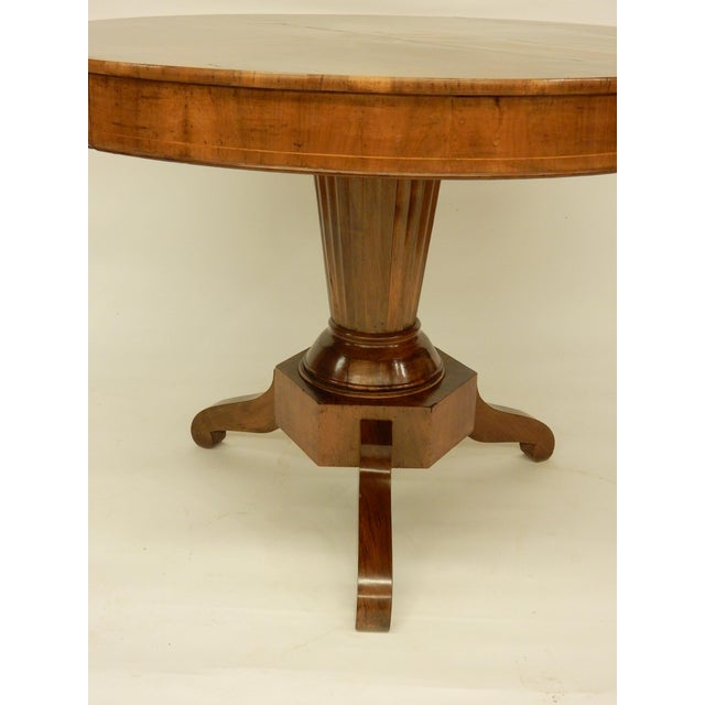19th C. Northern European Center Hall Table For Sale - Image 4 of 7
