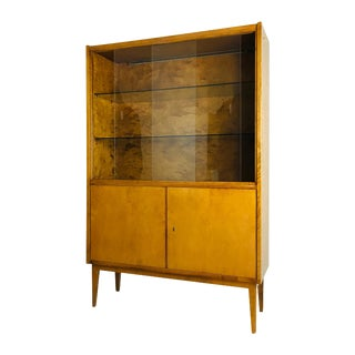 1950s French Display Cabinet For Sale