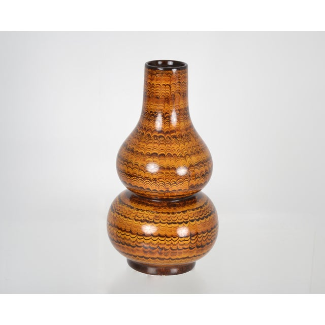 Maitland-Smith Gourd Shaped Vase - Image 2 of 3