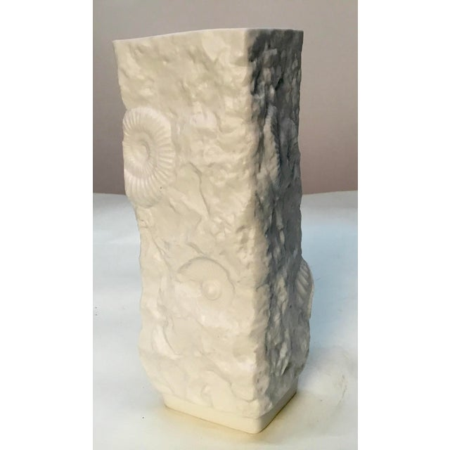 1970s 1970s Vintage Bisque Fossil Vase by Kaiser Porcelain For Sale - Image 5 of 9
