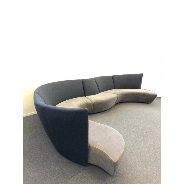 1990s Five Piece Sectional Sofa by Vladimir Kagan for Preview For Sale - Image 5 of 13