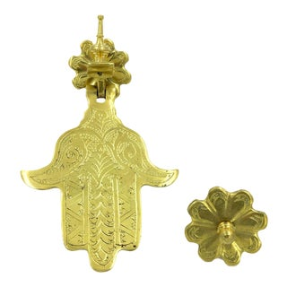 Large Hand of Fatima Door Knocker For Sale
