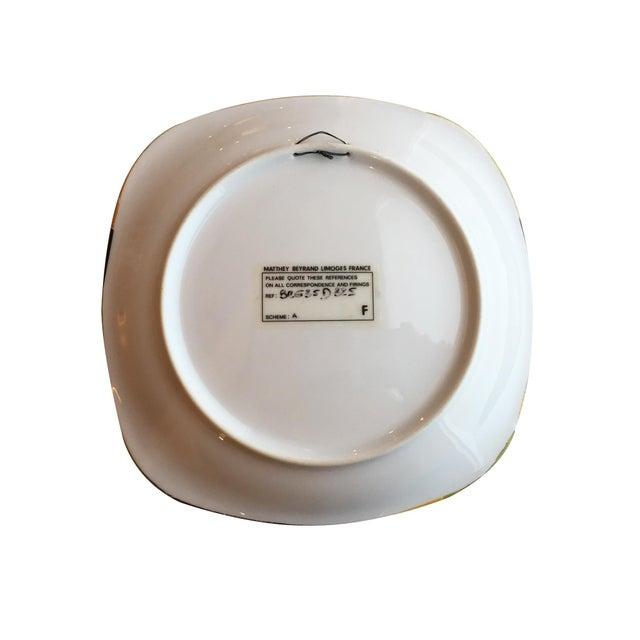 Limoges, France Hans Erni Decorative Porcelain Plate with Human Figure Design For Sale - Image 4 of 5