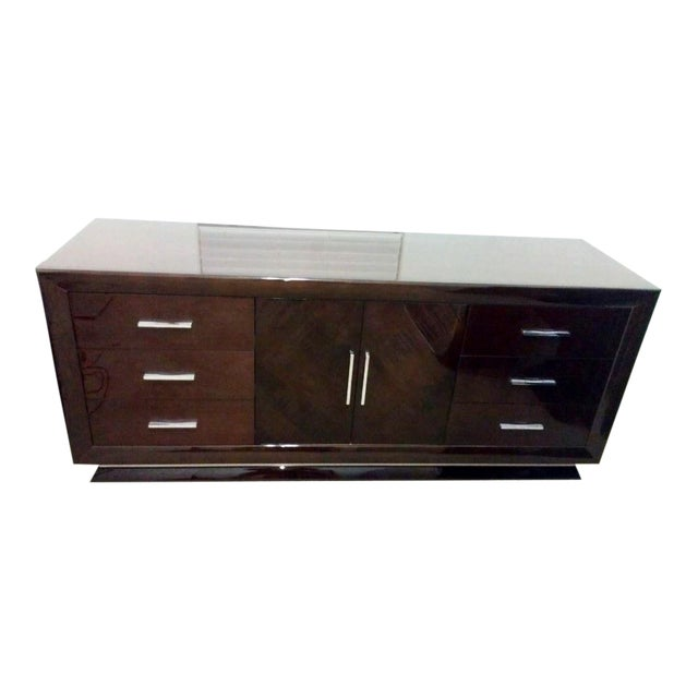 Excelsior Designs Italian High Gloss Dresser For Sale