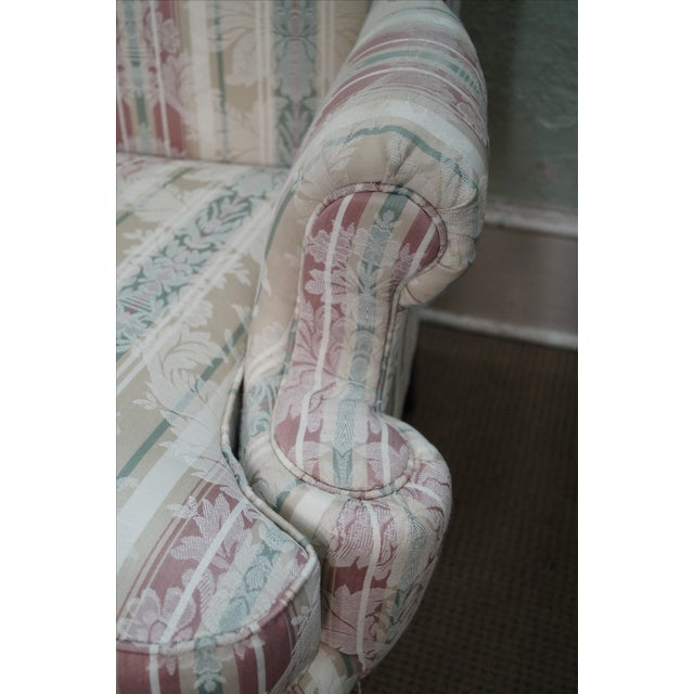 Thomasville Traditional Queen Anne Wing Chairs - 2 For Sale - Image 7 of 10