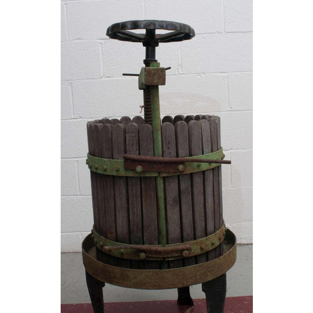 19th Century Wine Press From Eger, Hungary For Sale - Image 4 of 6
