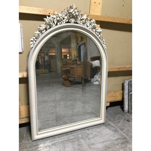 French 19th Century French Painted Mirror For Sale - Image 3 of 5