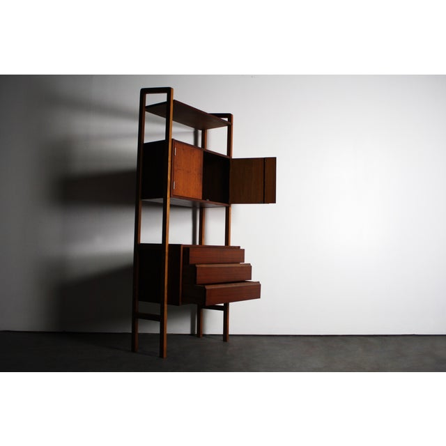 Yugoslavian Mid-Century Teak Wall Units - A Pair - Image 8 of 9