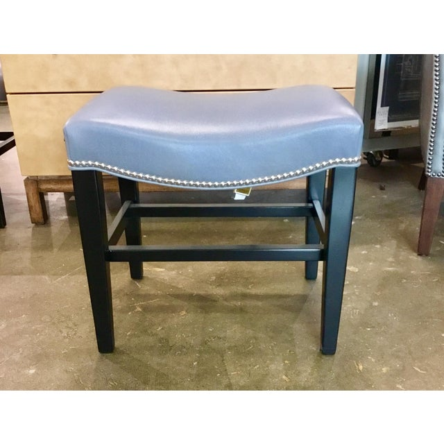 Hickory Chair Co. Madigan Leather Bench For Sale In Atlanta - Image 6 of 6