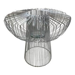 Mid Century Modern Danish Wire Ikebana Vase in Manner of Bertoia Pantone For Sale