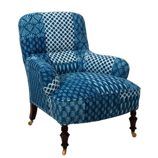 1900s Victorian Upholstered Armchair For Sale In New York - Image 6 of 7