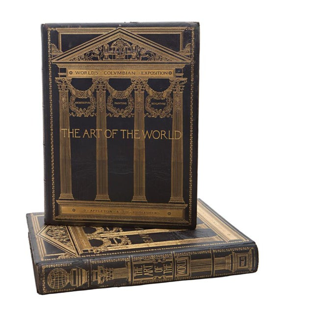 19th Century Art of the World Columbian Exposition Books - 2 Volumes For Sale - Image 11 of 11