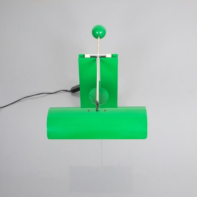 Mauro Martini Adjustable Counterweight Table Lamp Picchio, Italy, Circa 1965 For Sale - Image 11 of 13