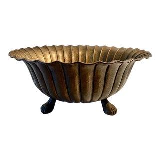 Igidio Casagrande Footed Bowl For Sale