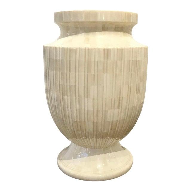 Showroom Modern Mosaic Bone Vase For Sale