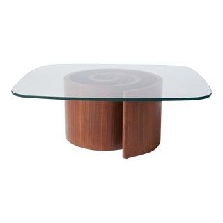 """Snail"" table by Vladimir Kagan"