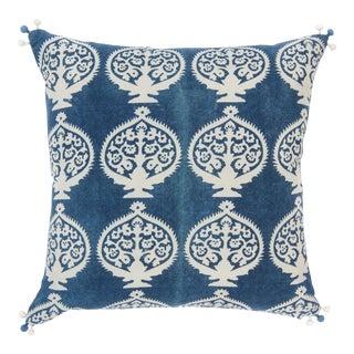 Bukhara Indigo Pillow