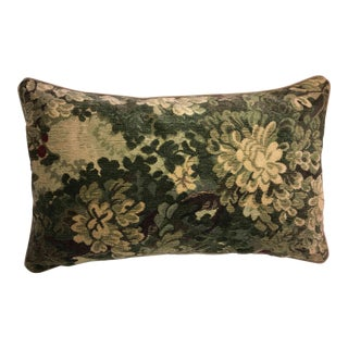 Scalamandre Marly Tapestry Down Feather Bolster Pillow ~ New!