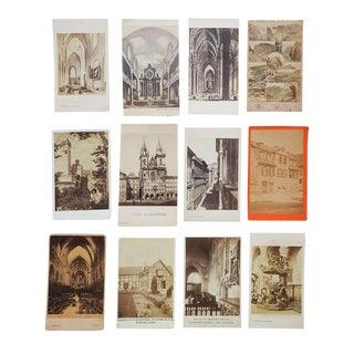 Antique Collection Grand Tour Architecture Photographs - Set of 12 For Sale