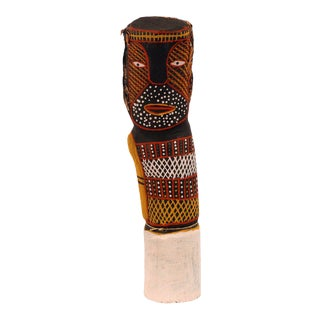 Australian aboriginal ironwood Bima Figure Carving Tiwi Island For Sale