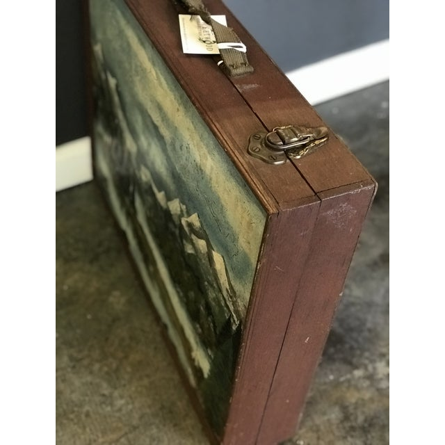 Vintage Wooden Artist's Box For Sale - Image 4 of 6
