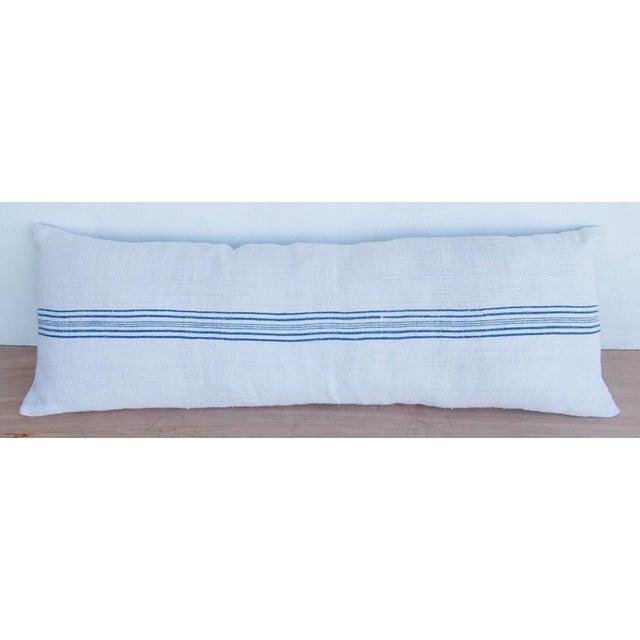 Long French Homespun Body Pillow - Image 2 of 8