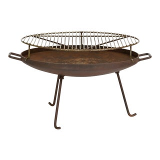 California Modern Barbecue or Brazier by Stan Hawk for Hawk House For Sale
