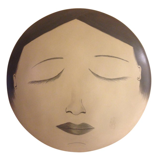 Moon Lady Wall Art - Image 1 of 5