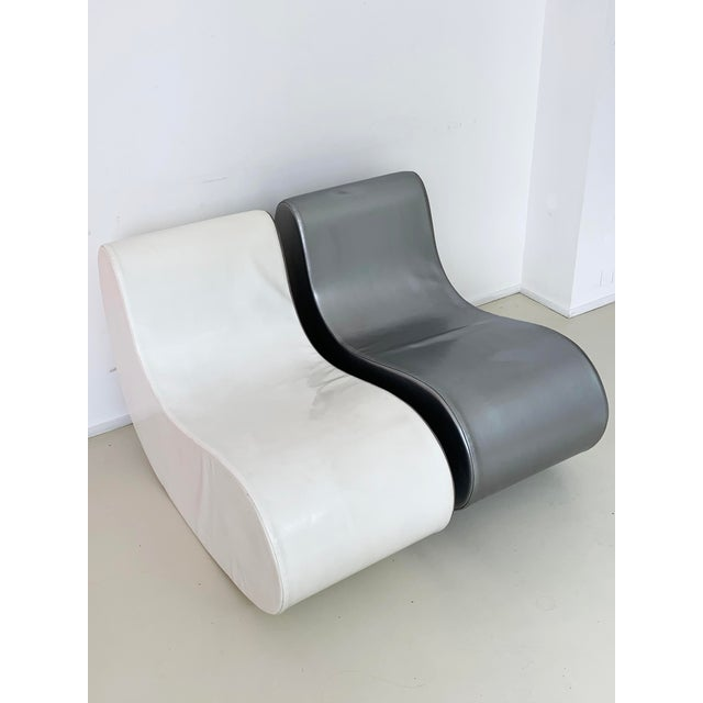 1960s Italian Rocking Boomerang Chairs - a Pair For Sale - Image 9 of 12