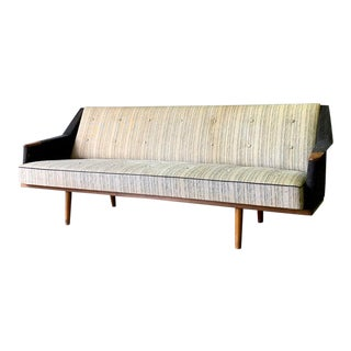 Mid Century Modern Teak Sofa Couch For Sale