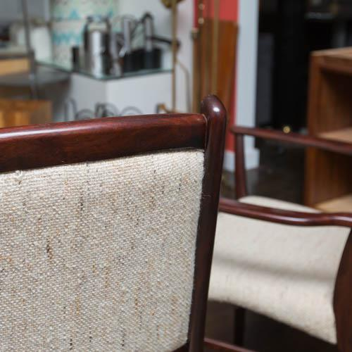 Rosewood Set of Ten Skovby Rosewood Upholstered Dining Chairs For Sale - Image 7 of 9