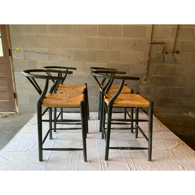 These Oslo stools, from Bungalow 5, embody the natural spirit of Scandinavian Modernism. These counter stool are handmade...