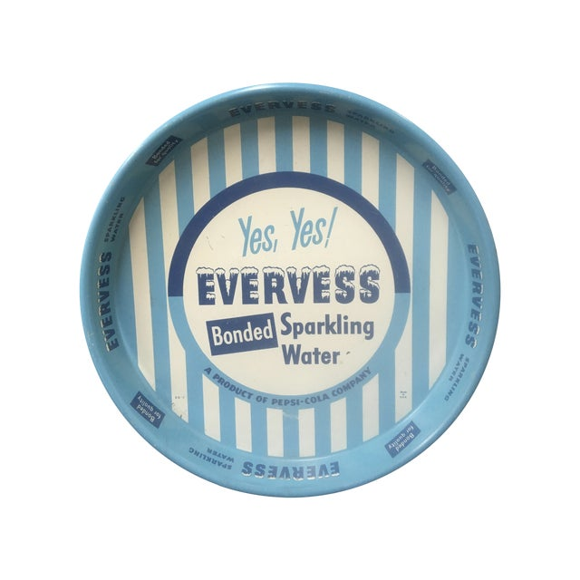 Vintage Advertising Tray, Evervess 1950's - Image 1 of 9