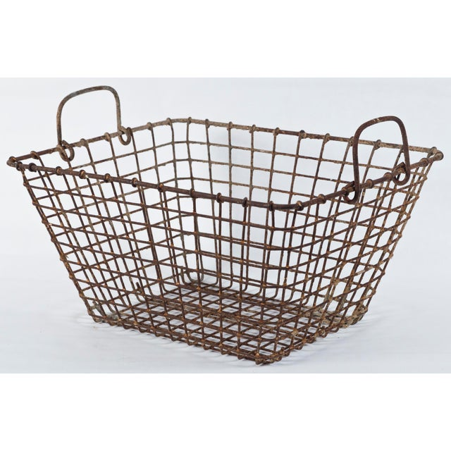 Mid 20th Century 20th Century French Oyster Baskets - a Pair For Sale - Image 5 of 11