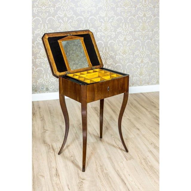 Biedermeier Biedermeier Sewing Table, a Classic of the Style, circa 1860 For Sale - Image 3 of 11