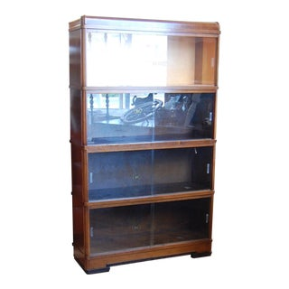 Art Deco Barrister Bookcase For Sale
