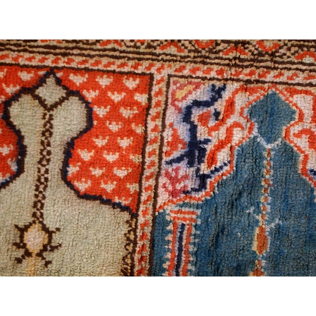 1960s Handmade Turkish Kayseri Runner - 2' X 5.6' - Image 8 of 10