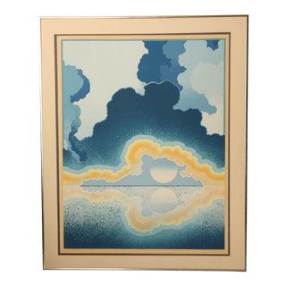 "Richard Gilbert ""Age of Grace"" Surrealist Serigraph Print For Sale"