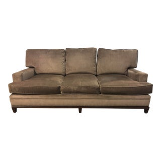 Kravet Allegro Loose Back Cushion Sofa + Calvin Klein Fabric For Sale